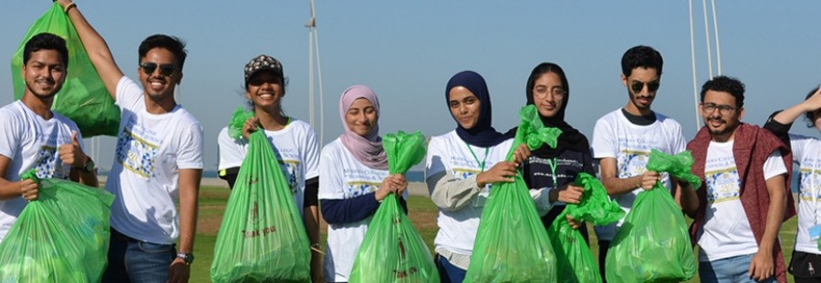 MCBS Environmental Club held its 5th Annual Beach Cleanup