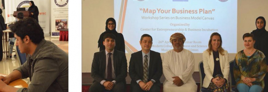 CEBI organizes Business Model Canvas Workshop at MCBS