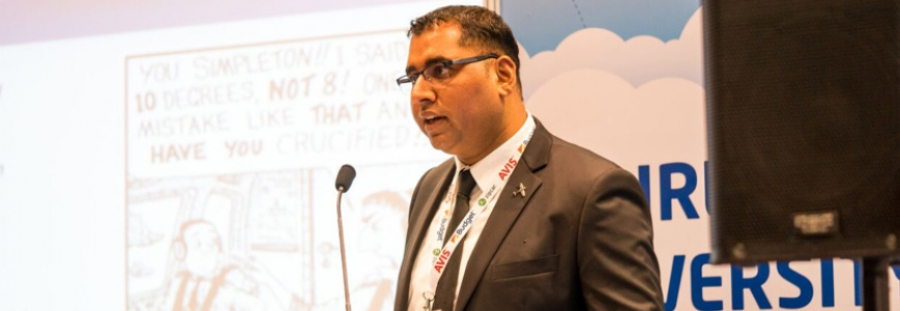 Aviation Faculty Member Presented at a Major Asian Aviation Conference and Exhibition in Singapore