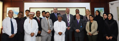 Oman Airport's Chief Operating Officer Meet with MCBS to Increase Collaborative Efforts